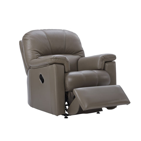 G Plan Chloe Small Power Recliner Leather Armchair