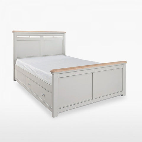 Stag Cromwell Bed Frame With Storage
