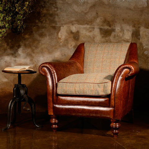 Tetrad Harris Tweed Dalmore Accent Chair