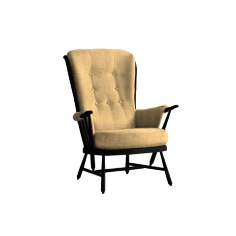 Ercol Evergreen Painted Easy Chair