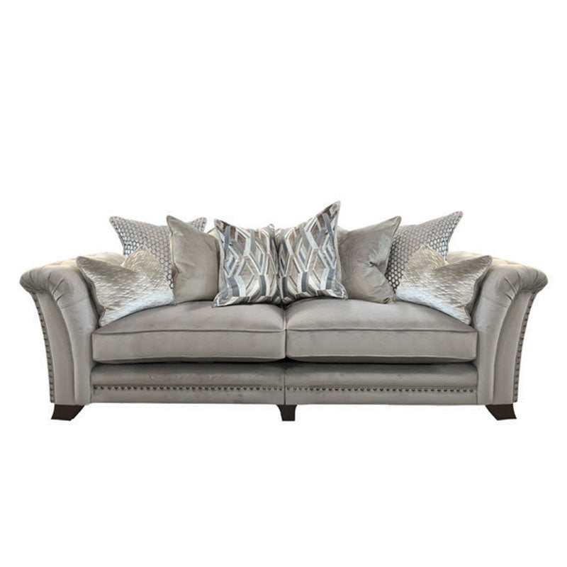 Florence 4 Seater Split Scatter Back Sofa