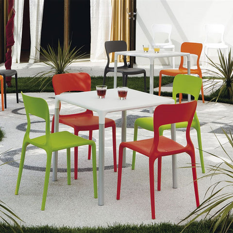 Connubia Calligaris Helios, Outdoor Plastic Chair