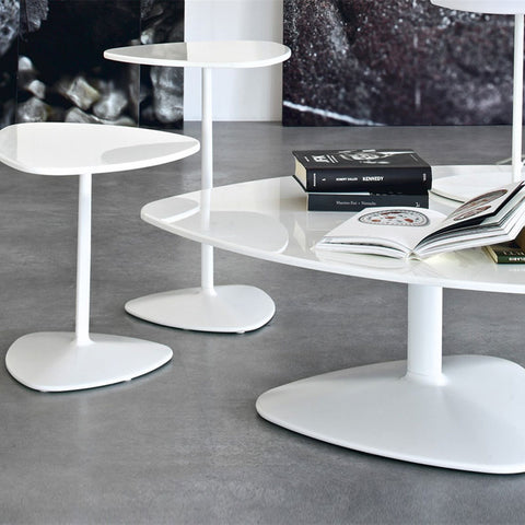 Connubia Calligaris Islands, High Triangular Coffee Table