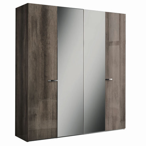Matera 4 Door Swinging Wardrobe