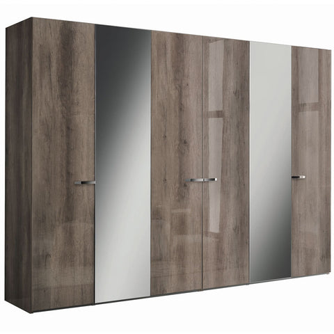 Matera 6 Door Swinging Wardrobe
