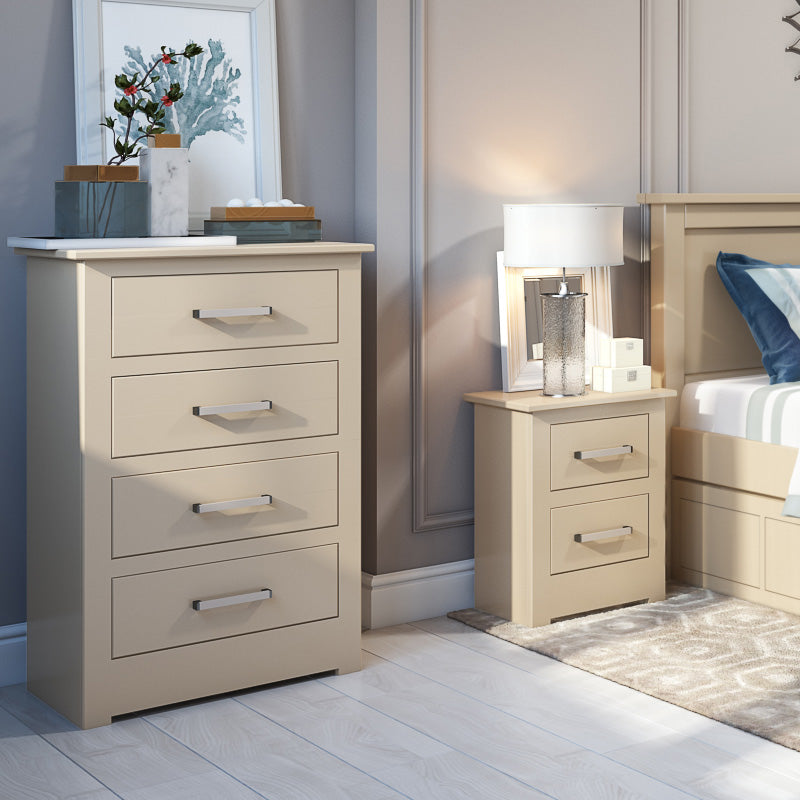 Modo Large 2 Drawer Bedside