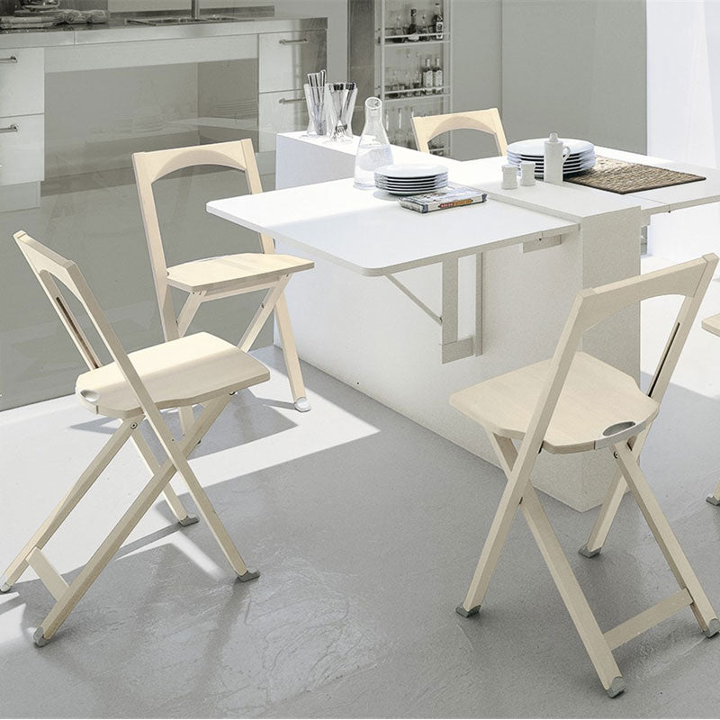 Connubia Calligaris Olivia Wooden Folding Chair