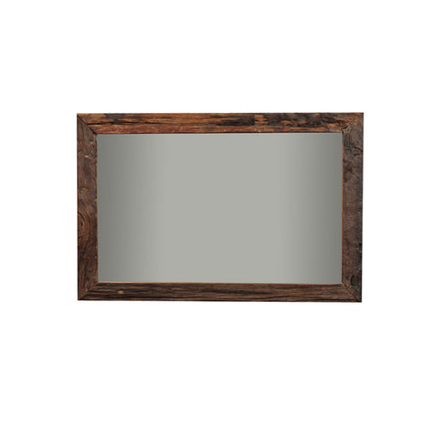 Railway Sleeper Wall Mirror