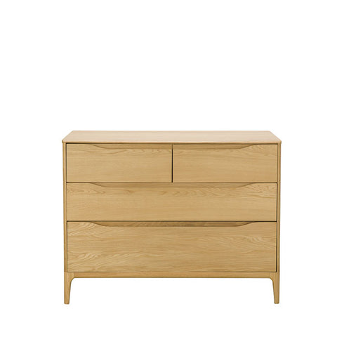 Ercol Rimini 4 Drawer Wide Chest