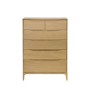 Ercol Rimini 6 Drawer Wide Chest
