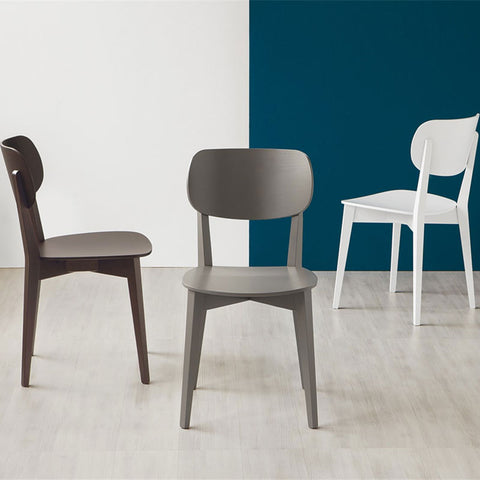 Connubia Calligaris Robinson Wooden Chair