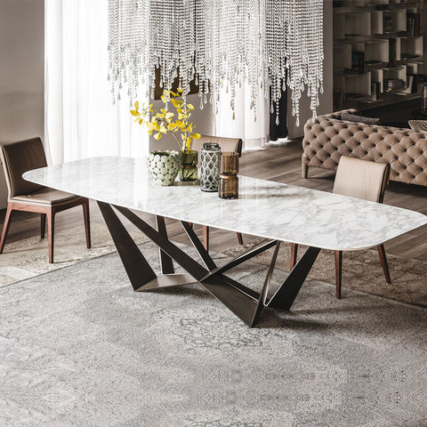 Cattelan Italia Skorpio Keramik Dining Table