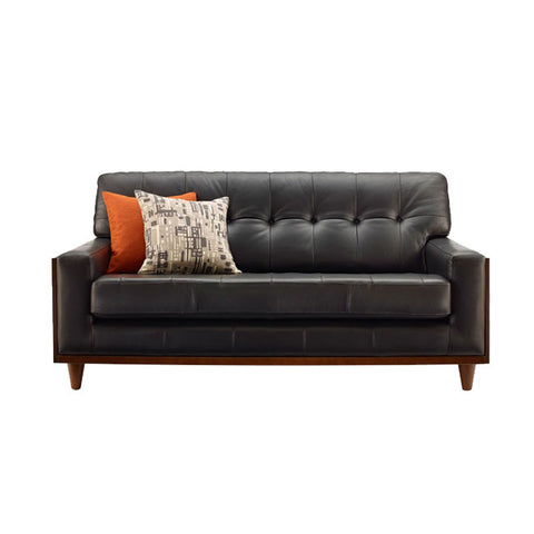 G Plan Vintage Fifty Nine Leather Small Sofa