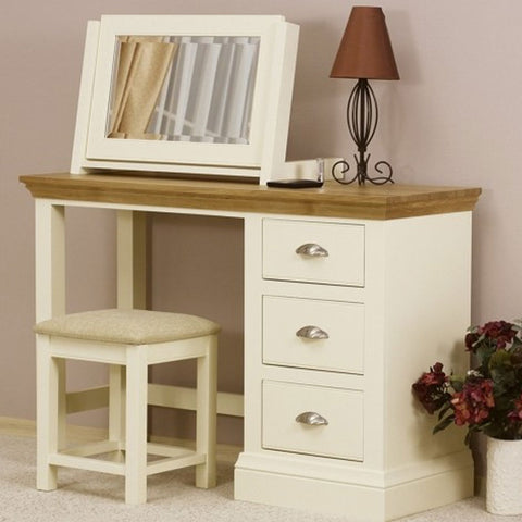 Pembridge Single Pedestal Dressing Table