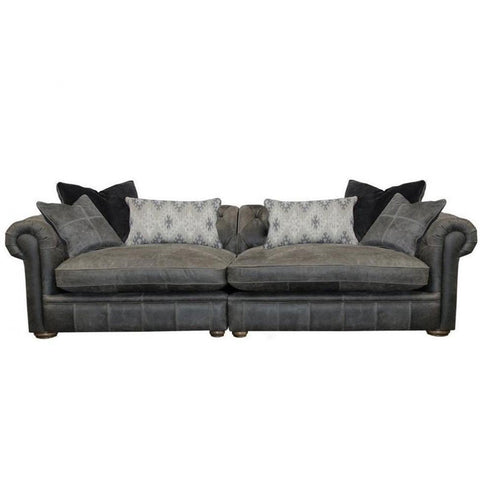 Alexander & James The Retreat Leather Maxi Split Sofa