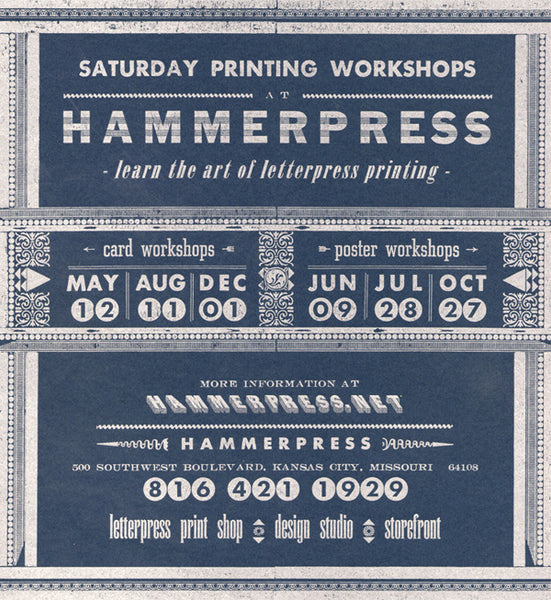 Letterpress workshops spend 50 and get a free 6 pack of you are magic cards now through saturday reheart