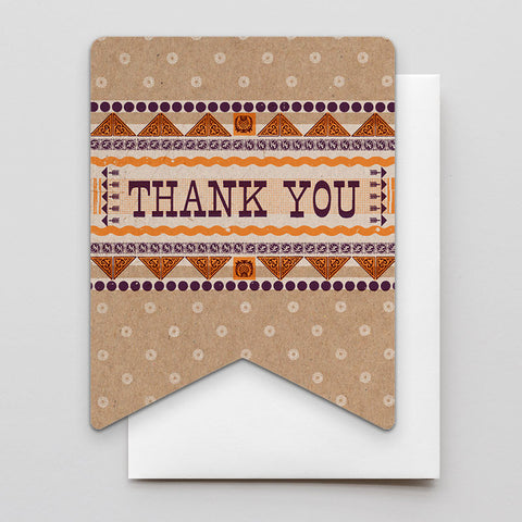Letterpress greeting cards hammerpress tagged sale thistle thank you banner m4hsunfo