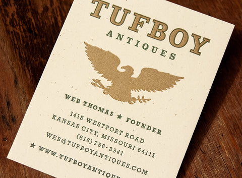 Our work hammerpress tagged business cards tufboy cards colourmoves