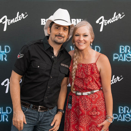 Meeting Brad Paisley!