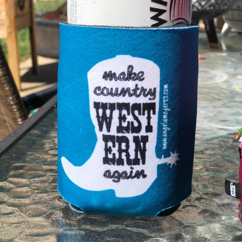 """Make Country Western Again"" Koozie"