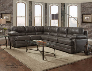 Nevada Ash Sectional