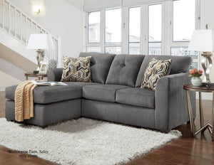 Kelly Gray Apartment Sectional