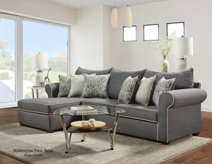 Jitterbug Gray Sectional