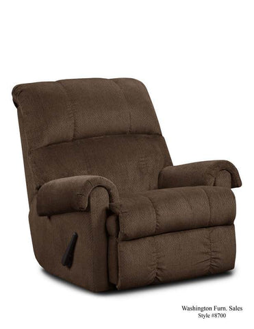 Kelly Chocolate Recliner