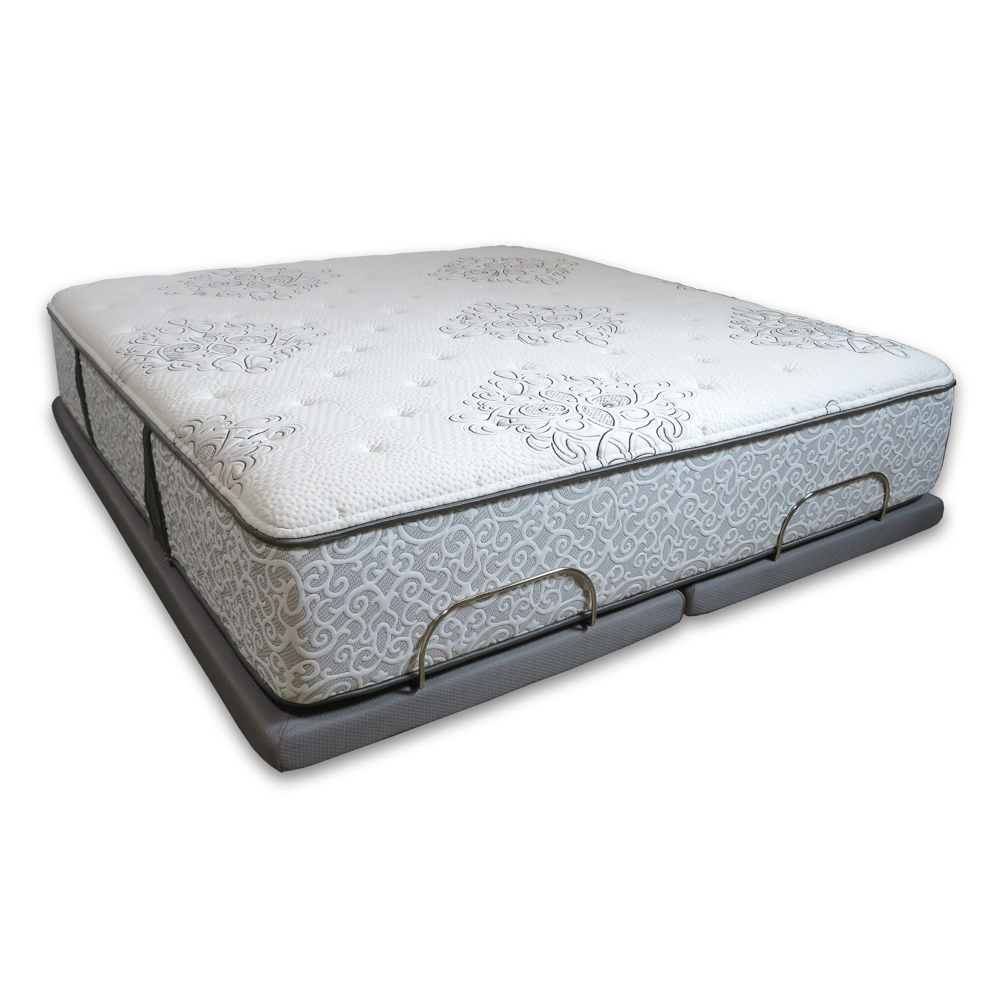 Queen Simmons Legend Mattress + Queen Adjustable Base - PACKAGE DEAL