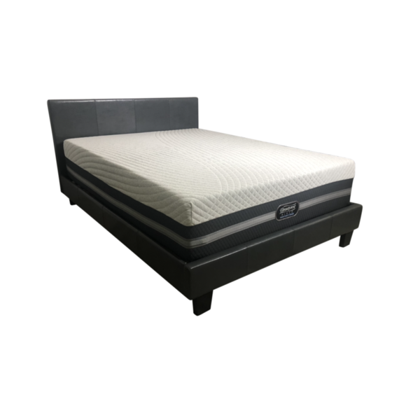King Simmons Black Ice Mattress + King Adjustable Base - PACKAGE DEAL