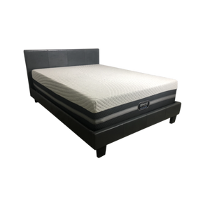 "Overstock Simmons Beautyrest Black Memory Foam with ICE Nadia 14"" Luxury Firm Mattress"