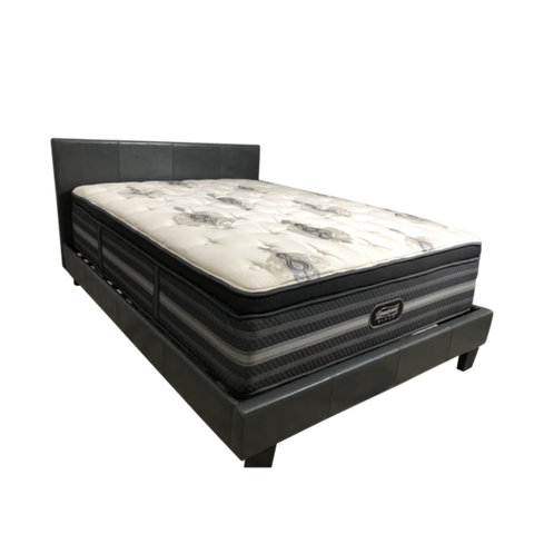 Image of The Overstock Simmons Beautyrest Black Sonya Luxury Firm Pillow Top Mattress