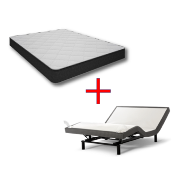 Image of Orion Mattress w/ Adjustable Base included