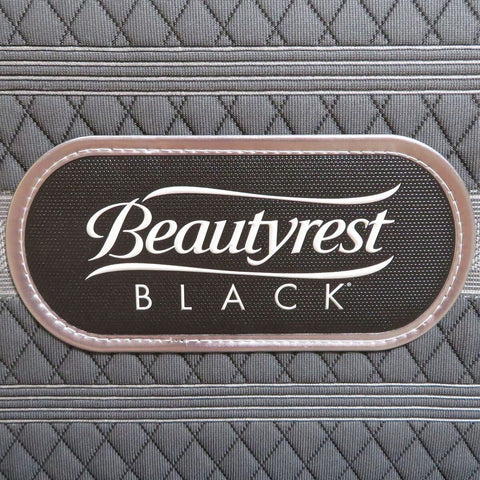 Image of Overstock Simmons Beautyrest Black Hybrid Firm Tolliver Mattress