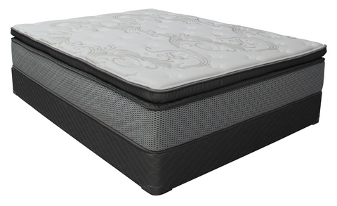 Sleeptronic Cosmic Sensation All Foam Pillow Top Mattress