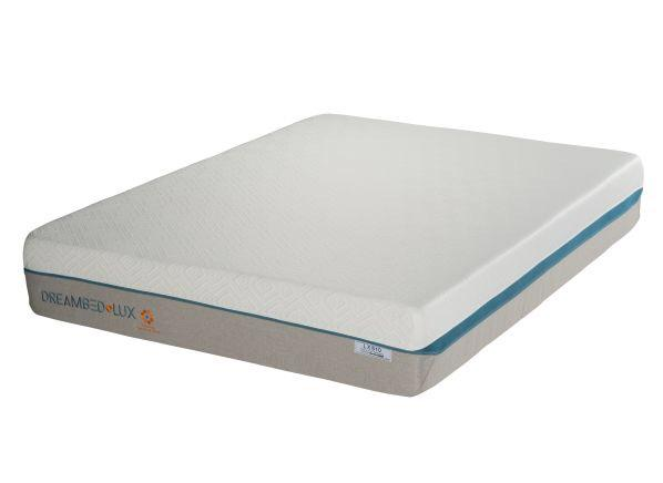 Overstock Dream Bed Lux LX640 Medium Plush Memory Foam Queen Mattress
