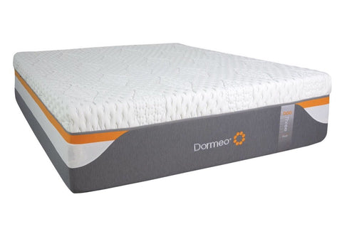 Overstock Dormeo Two Medium Firm Memory Foam Queen Mattress