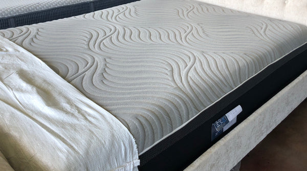 Overstock king Sealy Posturepedic Hybrid Premium Silver Chill 14-Inch Plush Cooling Mattress