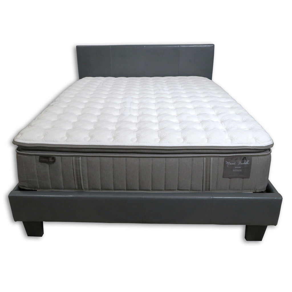 Overstock Stearns & Foster Garrick/Addison Grace Cushion Firm Pillow Top Queen Mattress