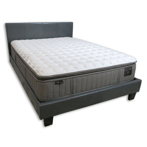 Image of Overstock Stearns & Foster Garrick/Addison Grace Cushion Firm Pillow Top Queen Mattress