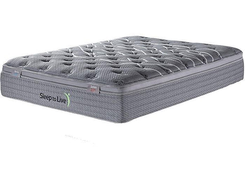 Overstock Kingsdown Sleep to Live Series 2.0 Green/Blue Mattress