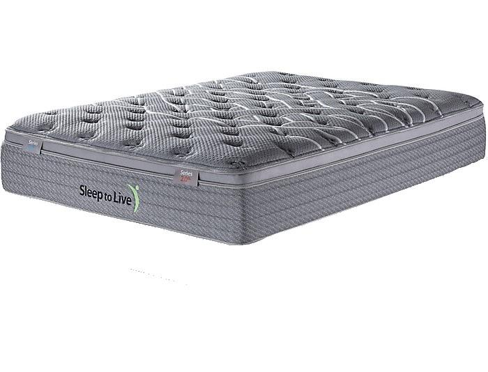 Overstock Kingsdown Sleep to Live Series 3.0 Red/Red King Mattress