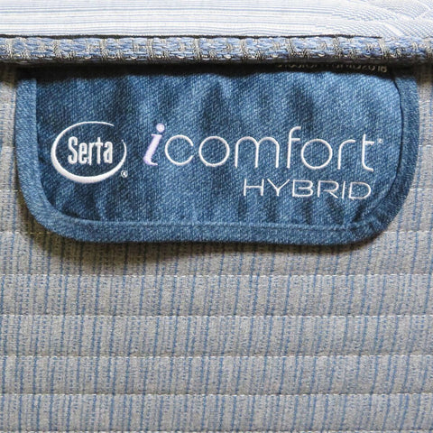 Image of Overstock Serta Hybrid Blue Fusion 300 Pillow Top Plush Mattress