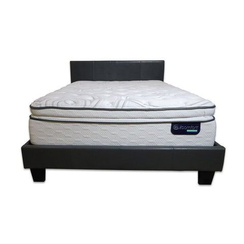 Image of Overstock Serta Observer Hybrid Plush Pillow Top Mattress