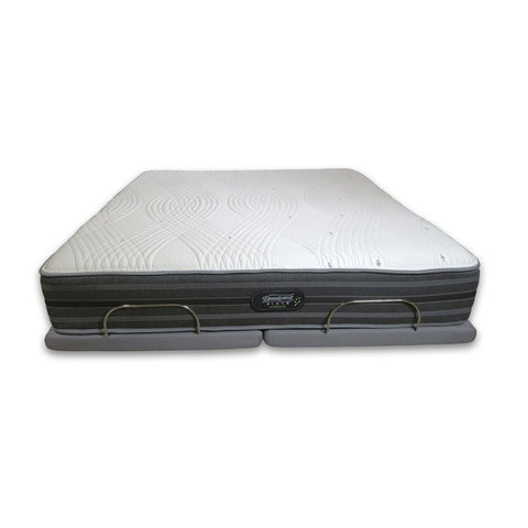 Image of Overstock Simmons Beautyrest Black Hybrid Gladney Luxury Firm Mattress