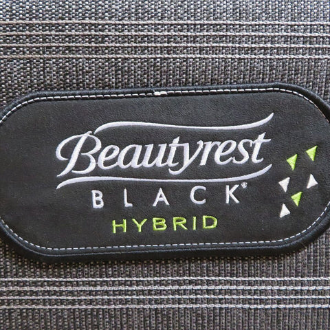 Image of Overstock Simmons Beautyrest Black Hybrid Alcove Plush Mattress