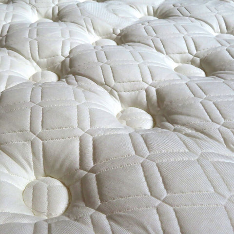 Image of Overstock Stearns & Foster Ella Grace Luxury Cushion Euro Pillow Top King Size Mattress