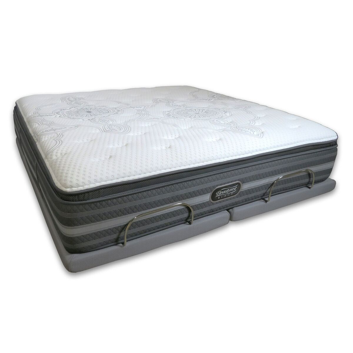 Overstock Simmons Beautyrest Black Hybrid Plus Wellington