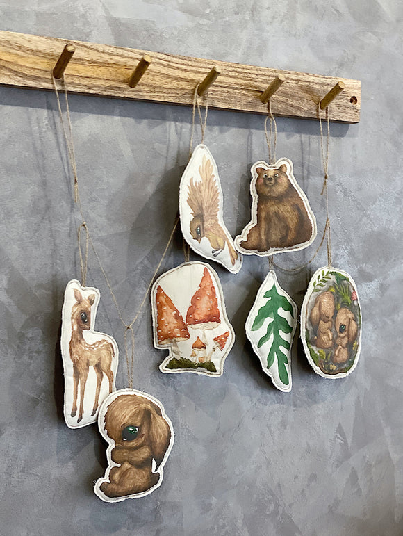 Magical Woodland stories garland