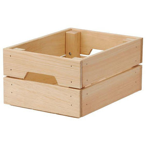 Caja KNAGGLIG Chico Natural - SM (Deco Studio)